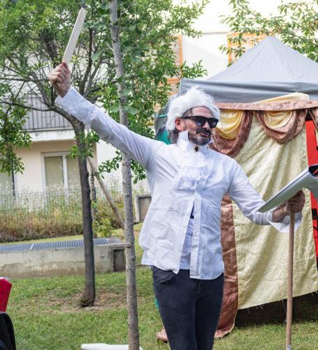 Cabaret au balcon à Livry-Gargan et Pixel Façade à Montreuil, programme éclectique ce 15 Juin !